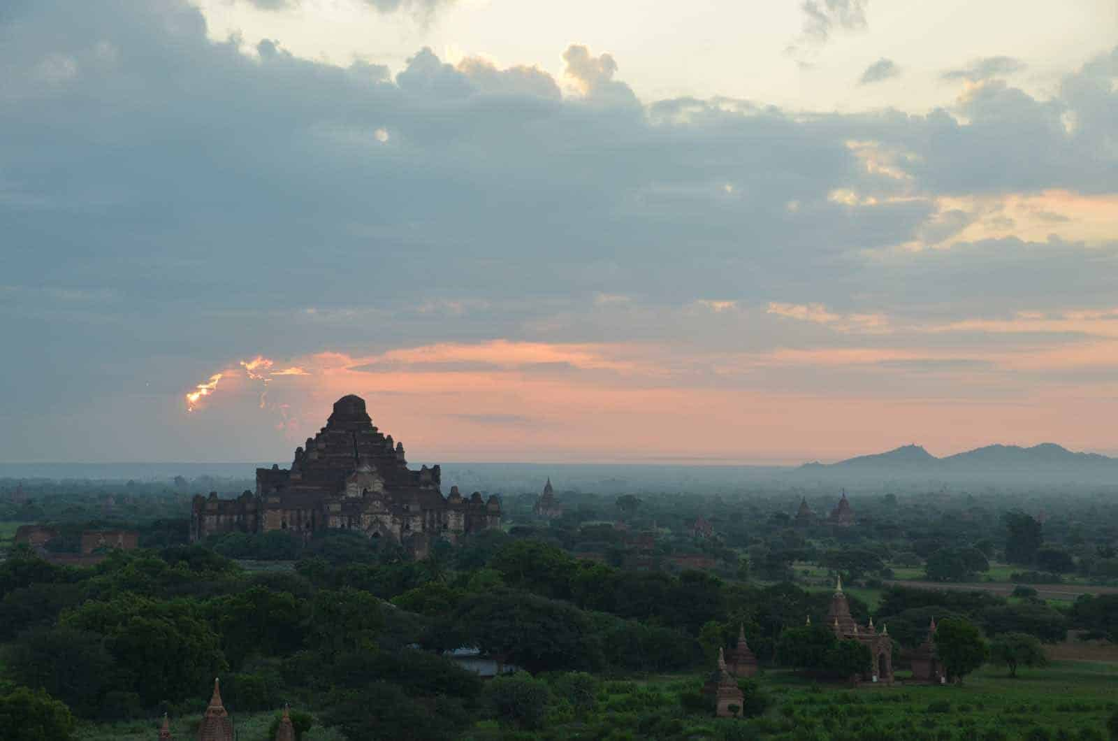 Bagan sunrise Myanmar