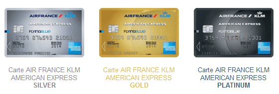 Cartes American Express Air France