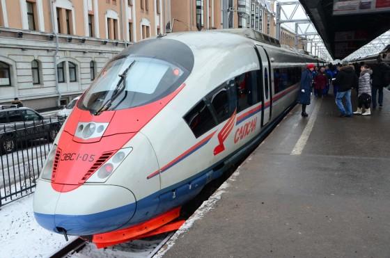 J'ai testé • le TGV russe Sapsan / Сапсан