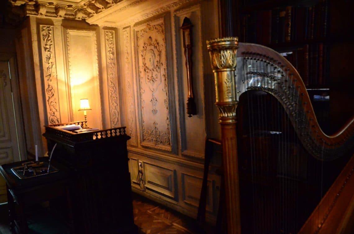 Harpe au Café Pushkin