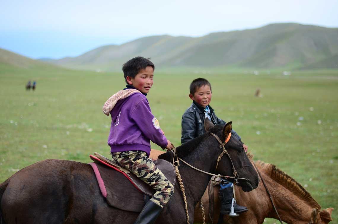 Gagnants de la course de chevaux, Mongolie