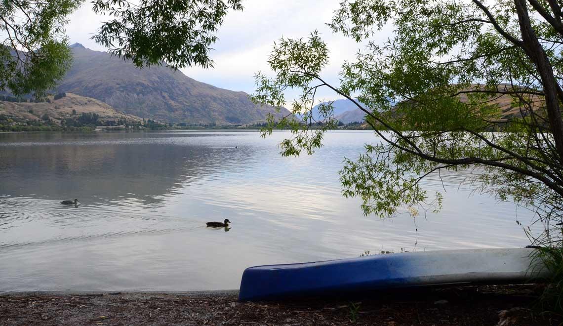 Lake Hayes, Nouvelle Zélande