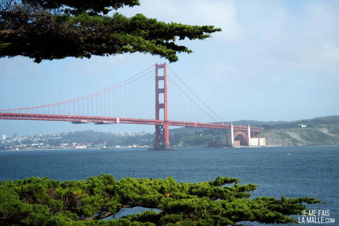 Kirby Beach Golden Gate Bridge