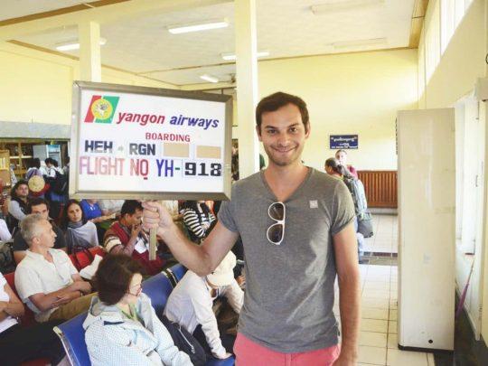 J'ai testé • vol intérieur au Myanmar Birmanie