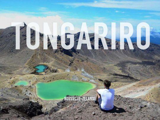 Traverser le Mordor à Tongariro, Nouvelle Zélande