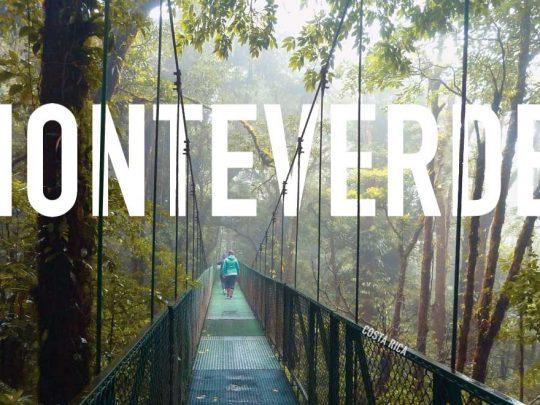 pont suspendu de Monteverde