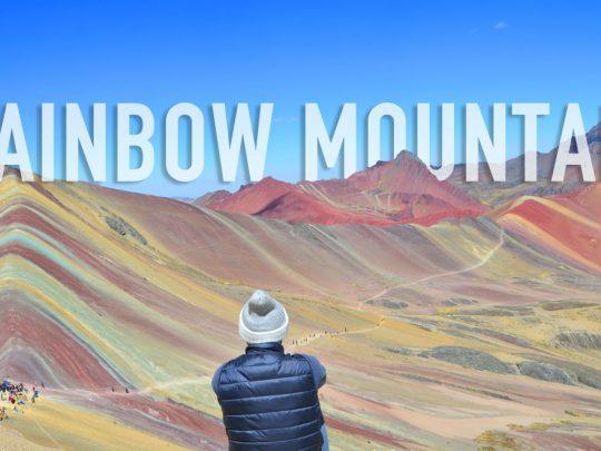 Conquérir la Rainbow Mountain, Pérou