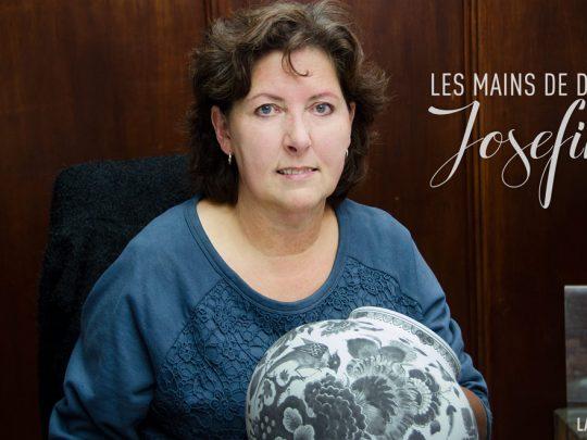 Les mains de Delft  •  Josefine